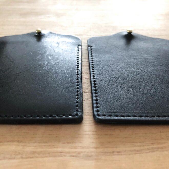 左は4カ月ほど使用したもの、右は新品